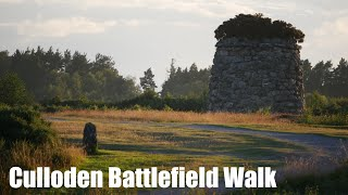 Culloden Battlefield: A silent walk (for respect) past the sad row of Clan Graves