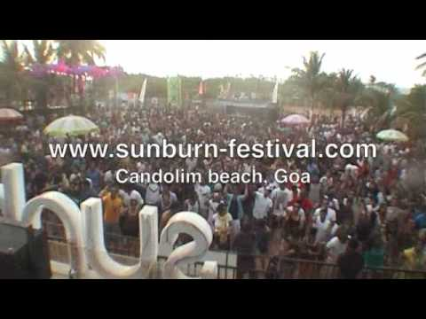 Norman Doray at Sunburn, Goa 2009