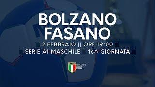 Serie A1M [16^]: Bolzano-Fasano 27-22