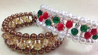 (Tutorial) Opulent Christmas Bracelet (Video 111)