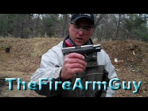 Shooting the Kahr CW45 - TheFireArmGuy