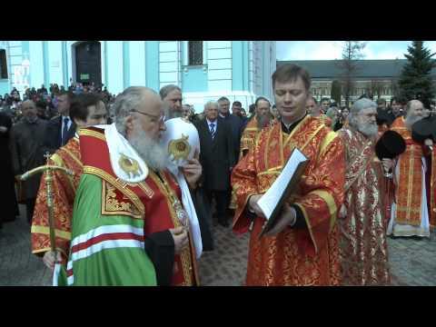 Патриарх Кирилл совершил Литургию в Троице-Сергиевой лавре