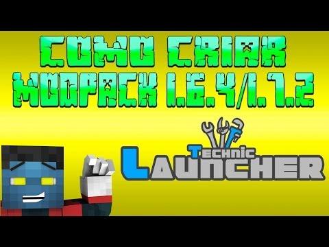 Como criar Modpack 1.6.4/1.7.2 para Technic Launcher (Pirata/Original)