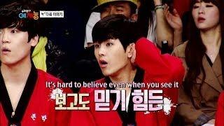 Cool Kiz on the Block | 우리동네 예체능 - First Taekwondo Training! (2014.04.04)