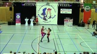 Christina Ruß & Benjamin Wörner - Landesmeisterschaft Bayern 2015