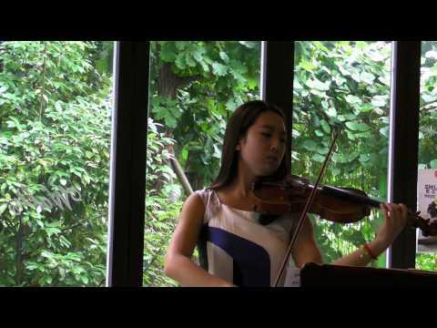 H. Eccles, Sonata in g minor, violin, Soohyun (Sue) Lee, Fay School