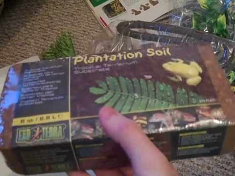 Exoterra Rainforest Habitat kit unboxing and review