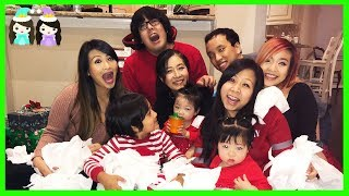 Christmas Day 2017 Opening Presents with Princess T and Ryan   Holiday Family Vlog