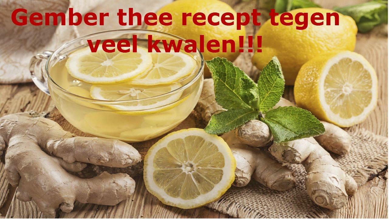 thee met citroen en gember