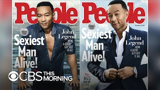 "John Legend named ""2019 Sexiest Man Alive"" by People"