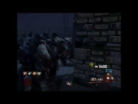 Black Ops 2 Zombies Insane Escape on Mob of the Dead