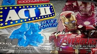 ACT II   Blue Power Edición  Avengers Era de Ultron