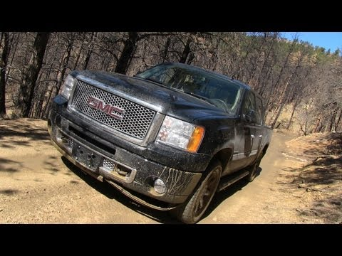 2013 GMC Sierra Denali Snowy & Muddy Off-Road Review