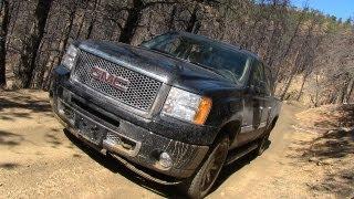 2013 GMC Sierra Denali Snowy & Muddy Off-Road Review