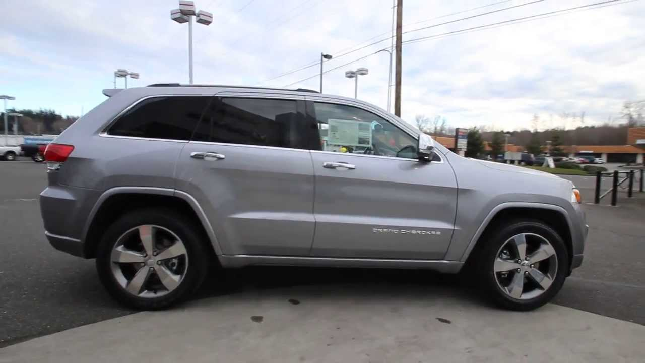 2014 Jeep Grand Cherokee Overland Ecodiesel Silver