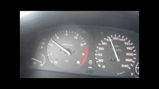 Honda Accord 1.8iS 1997 85Kw 0-100km/h Acceleration