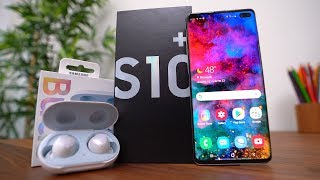 Samsung Galaxy S10+ AND Galaxy Buds Unboxing!