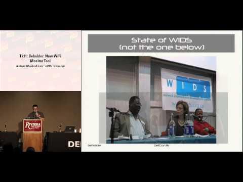DEF CON 16 - Nelson Murilo & Luiz Eduardo: Beholder: New wifi monitor tool