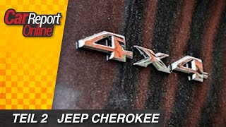 Jeep Cherokee Limited 3.2 V6 Offroad Test - Car Report Online - english sub
