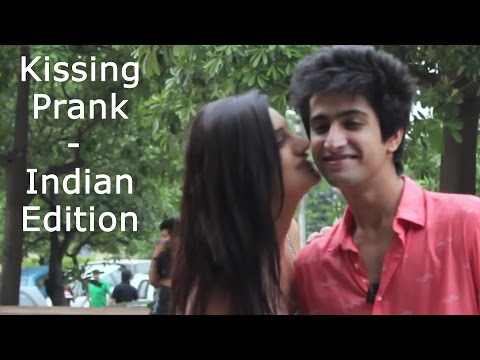 Kissing Prank - Guessing Name | Sahil Bedi