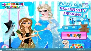 Frozen Elsa Maternity Designs Video Game - Baby Girl Games