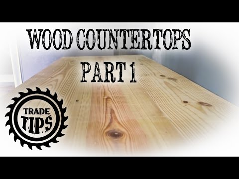 Building a Wood Countertop from 2x10's (PART 1) - Trade Tips