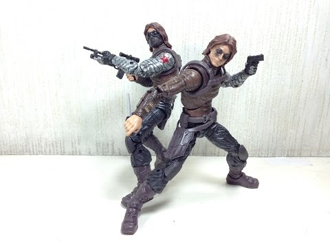 Winter Soldier Marvel Legends Captain America Toy Review