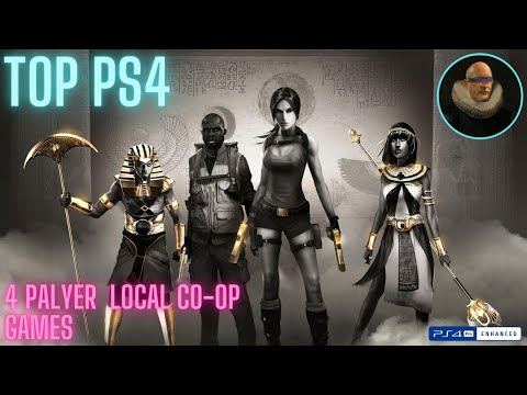13 Top 4 Player PS4 Games