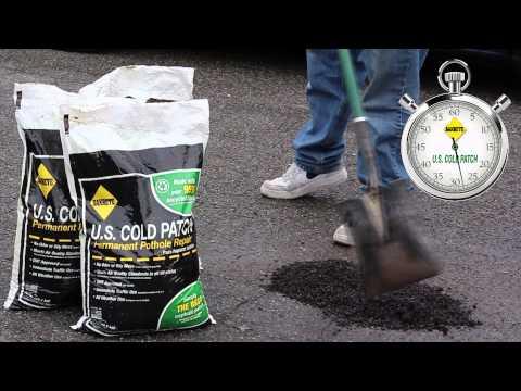 U.S. Cold Patch 60 Second Pothole Repair