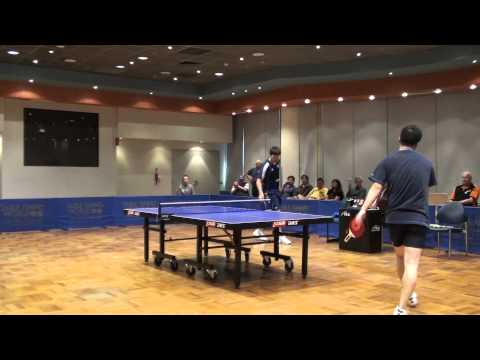 2012 Mounties invitational men single Final: Chris Yan vs Robert Frank set 2