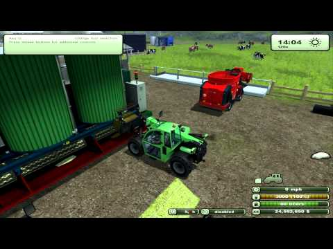 Farming Simulator 2013 Mod Review Mixing Station V1 0(EN)