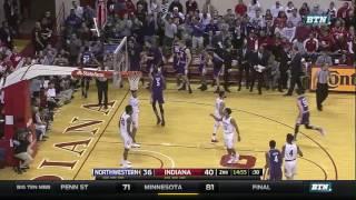 Northwestern at Indiana - Men's Basketball Highlights