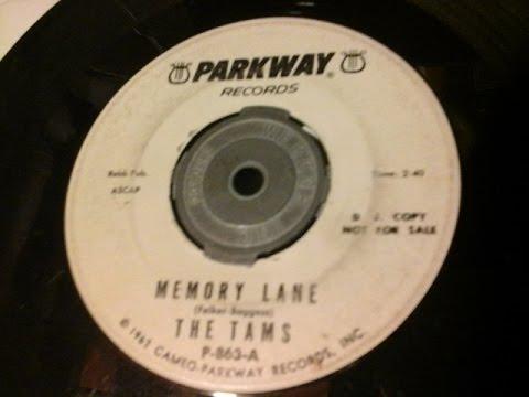 The Tams - Memory Lane