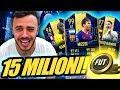 😱15 MILIONI DI SQUADRA *TOTY* MIGLIORE DELLA MIA VITA!!! FIFA 19 ITA