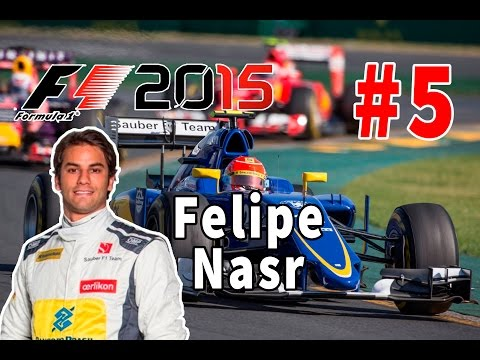 F1 2015 - Felipe Nasr - Espanha - PT-BR