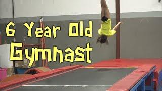 Adorable 6 Year Old Gymnast Farrah| Rachel Marie
