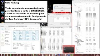 Cpu Core Parking--Acordando os Nucleos Sonolentos do Processador W7,8,8.1 e 10