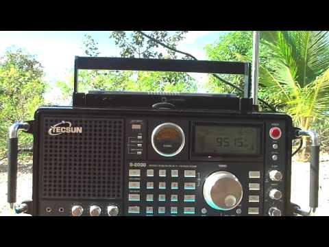 9515 khz Radio Marumby , Curitiba , Parana , Brazil
