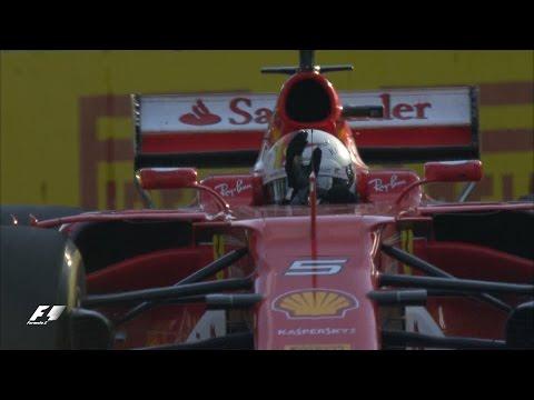 Vettel Wins 2017 Australian Grand Prix   Race Highlights