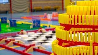 "DDT 2017 - Board Games ""It's Your Turn"" - 150.000 dominoes - Falldown"