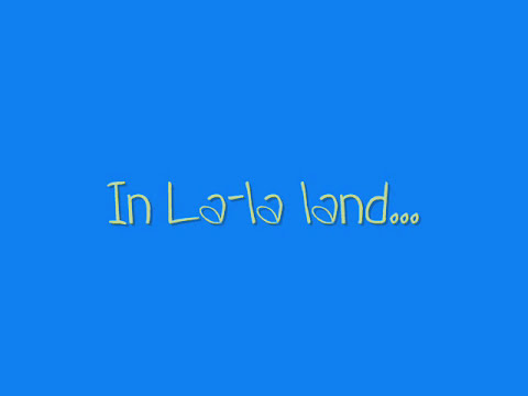 Demi Lovato - LaLa Land (With Lyrics and cute font)