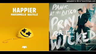 Download Hey Look Ma I39m Happier Mashup  Panic at the DiscoMarshmello amp Bastille MP3