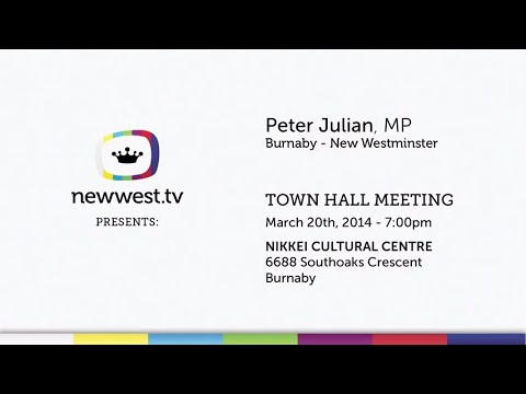 Peter Julian Town Hall about Canada Post