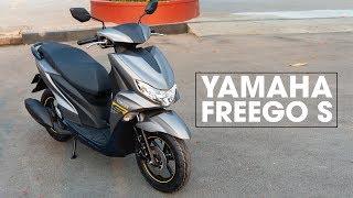 'Trên tay' Yamaha FreeGo S - phanh ABS, sạc 12V, giá 38,9 triệu | Xe.tinhte.vn