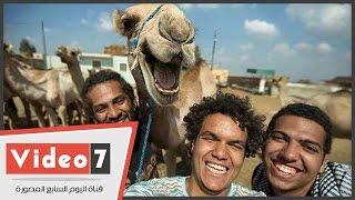 بالفيديو..صاحب الجمل« أبو ضحكة جنان »:« بكيت على جمل دبحته بعد 10 سنين عشره»