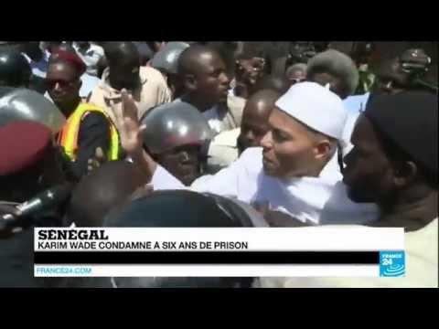 URGENT - SÉNÉGAL : Karim Wade condamné à 6 ans de prison ferme pour