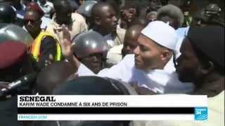 Karim Wade condamné à 6 ans de prison ferme pour ''enrichissement illicite''