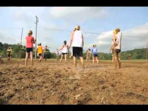 Sequoyah High School mud volleyball tournament