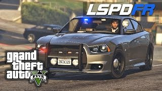 LSPDFR SP E61 - Tazed and Torched (2012 Charger Unmarked)