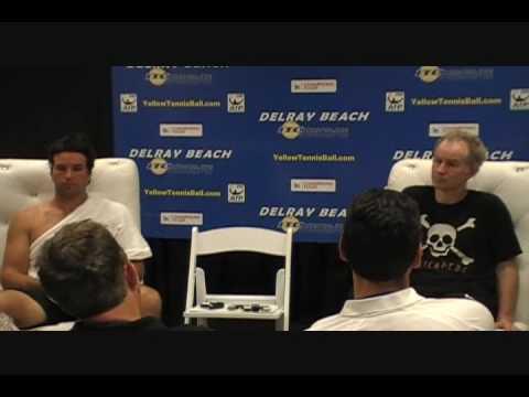 John McEnroe, Patrick Rafter Press Conference (2 of 2)